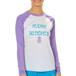 Reel Legends Juniors Keep It Cool Aloha Beaches Top