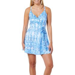 Reel Legends Juniors Keep It Cool Lace Ripple Dress
