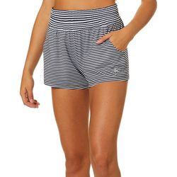 Reel Legends Juniors Keep It Cool Sailor Stripe Beach Shorts