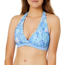 Reel Legends Juniors Lace Ripple Reversible Swim Bottoms