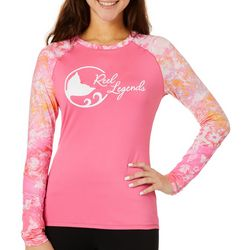 Reel Legends Juniors Keep It Cool Maui Mermaid Logo Top