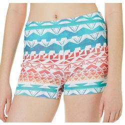 Reel Legends Juniors Keep It Cool Tribal Spindrift Shorts
