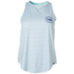 Chubby Mermaids Juniors Striped Coordinates Tank Top