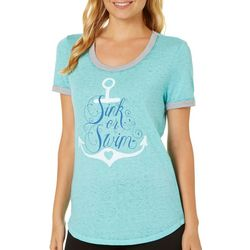 Reel Legends Juniors Sink or Swim T-Shirt