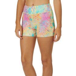 Reel Legends Juniors Keep It Cool Tropical Palm Leaf Shorts