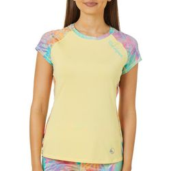 Reel Legends Juniors Keep It Cool Tropical Party Panel Top
