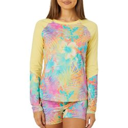 Reel Legends Juniors Keep It Cool Tropical Party Top