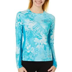 Juniors Keep It Cool Troptical Skin Panel Top