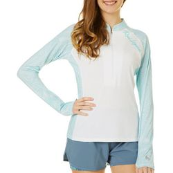 Reel Legends Juniors Optical Swirl Long Sleeve Top