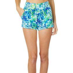 Reel Legends Juniors Keep It Cool Tie Dye Beach Shorts