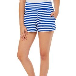 Reel Legends Juniors Keep It Cool Sailor Stripe Beach Shorts
