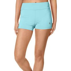 Juniors Keep It Cool Solid Spindrift Shorts