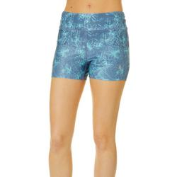 Juniors Beach Pro Hibiscus Floral Shorts