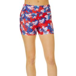 Reel Legends Juniors Beach Pro Americana Hibiscus Shorts