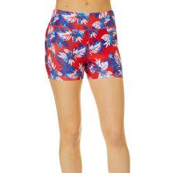 Juniors Beach Pro Americana Hibiscus Shorts