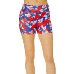 Juniors Beach Pro Americana Hibiscus Shorts