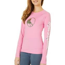 Juniors Keep It Cool Long Sleeve Top