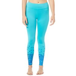 Reel Legends Juniors Keep It Cool Foil Fish Scale Leggings