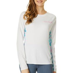 Juniors Keep It Cool Colorblock Beach Glass Top
