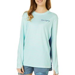Reel Legends Juniors Keep It Cool Striped Top
