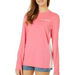 Juniors Keep It Cool Colorblock Top