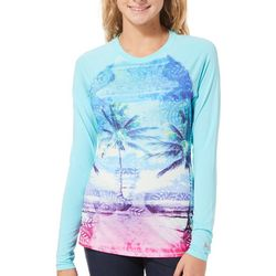 Reel Legends Juniors Keep It Cool Ombre Palm Tree Top