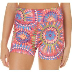 Reel Legends Juniors Keep It Cool Sunburst Medallion Shorts