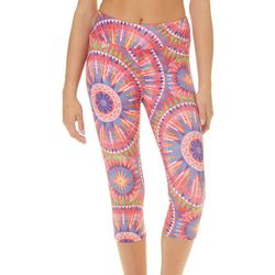 Reel Legends Juniors Sunburst Medallion Pull On Capris