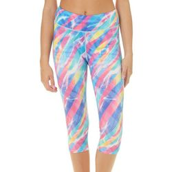 Reel Legends Juniors Dotted Stripe Pull On Capris