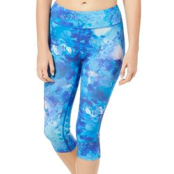Reel Legends Juniors Keep It Cool Paint Pour Capris