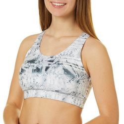 Reel Legends Juniors Elite Comfort Printed Sports Bra