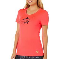 Loco Skailz Juniors Mesh Logo Short Sleeve Top