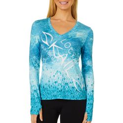 Juniors Wicked Cave Floor Long Sleeve Top