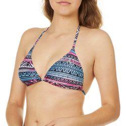 Reel Legends Juniors Gypsy Stripe Bikini Swim Top