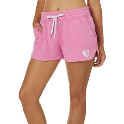 Juniors Solid Fleece Shorts