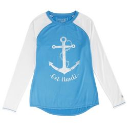 Reel Legends Juniors Nautical Keep It Cool Top