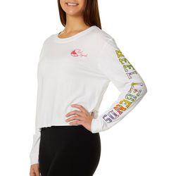 Reel Legends Juniors Solid Logo Long Sleeve Top