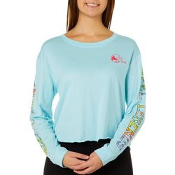 Reel Legends Juniors Solid Logo Long Sleeve Top