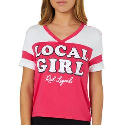 Reel Legends Juniors Cropped Local Girl T-Shirt