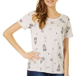 Chubby Mermaids Juniors Love Manatees T-Shirt