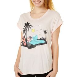 Juniors Surfing Manatee T-Shirt