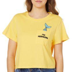 Reel Legends Juniors Cropped I'm Mermazing T-Shirt
