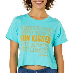 Reel Legends Juniors Cropped Sunkissed T-Shirt