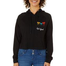 Reel Legends Juniors Cropped Hooded Sweatshirt