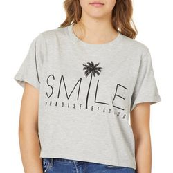 Reel Legends Juniors Cropped Smile T-Shirt