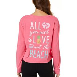 Reel Legends Juniors All You Need Is Love And The Beach Top