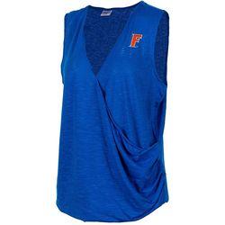 Florida Gators Juniors Surplice Logo T-Shirt By Zoozatz