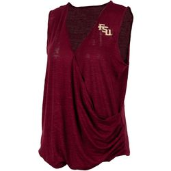 Florida State Juniors Surplice Logo T-Shirt By Zoozatz