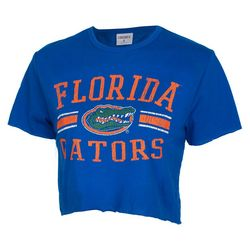 Florida Gators Juniors Logo Cropped T-Shirt by Zoozats
