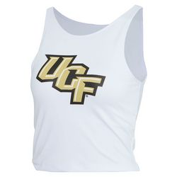 UCF Knights Juniors Logo Cropped Tank Top by Zoozats